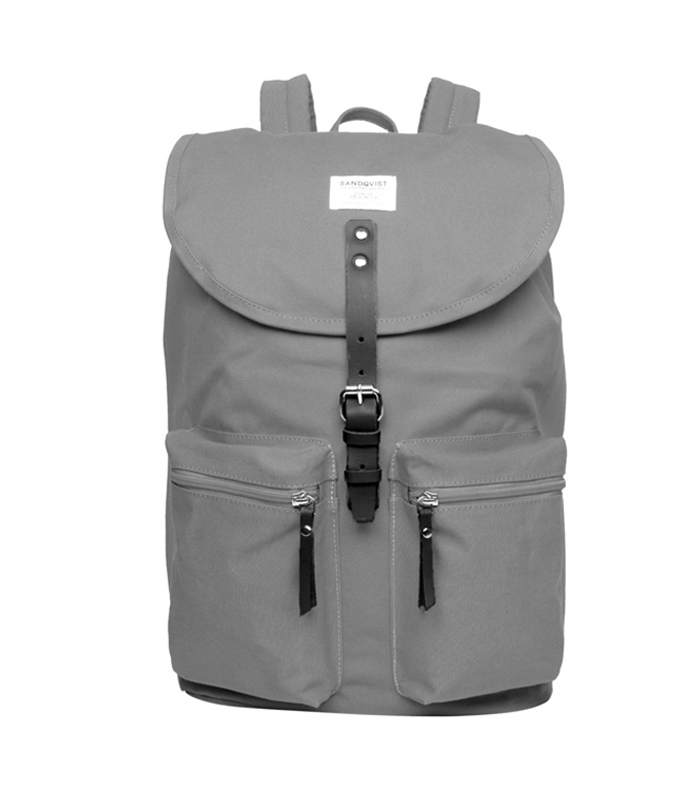 sandqvist roald grey backpack